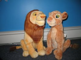 .:Big Nala and Simba couple Nwt:. by Wolvesforeva
