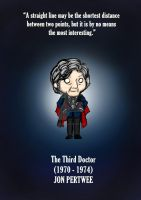 The Third Doctor- doctor who fanart by MoztDangerous