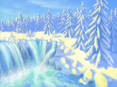 WINTER FALLS by VyGotte
