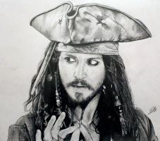 Jack Sparrow (Johnny Depp) by williamerhel