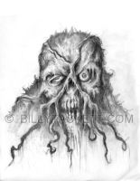 Zombie Swamp Thing by billytackett