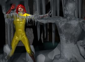 Firestar On Ice by Tuffers-Art