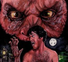 An American Werewolf In London by smjblessing