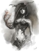Dryad concept by jellyxbat