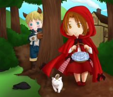 Commission - Red Riding Hood by feshnie