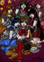 +Sailor Soldiers + by MaliciousMisery