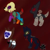 K's Circus Adoptables (CLOSED More Coming Soon) by TherealNightstripes