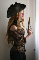 Pirates - Barbarian Queen Portrait 5 by mizzd-stock