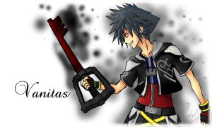 Kingdom Hearts Vanitas fanart by Marshal91