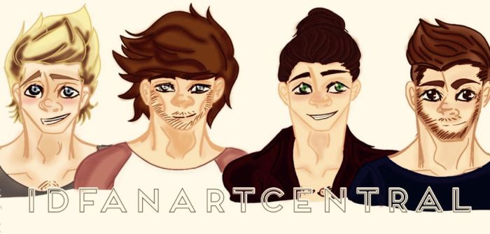 1DFanArtCentral Icon!!!!! by lillianflamegirl2014
