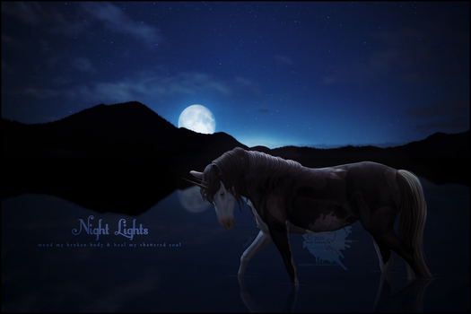 Night Lights - Commission by Ellessy