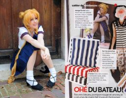 Usagi cosplay fashion magazine by clefchan