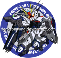 ZGMF-X10A Freedom Gundam by darksonwong