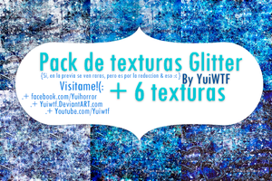 Pack Texturas Glitter by YuiWTF