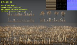 Free Grass Pack 3 by Nobiax