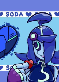 Valentines with Soda : Artificial Heart by zero93