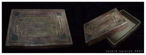 Antique Postcard Box by blue-fusion