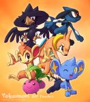 My Pokemon DP DreamTeam by aun61