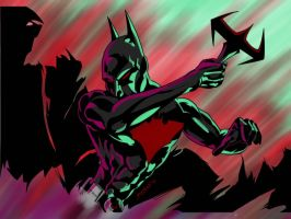 Batman Beyond by JamesLeeStone