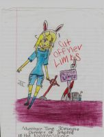 Trapped in The Nightosphere Fionna by IKillMuffinsOnMonday