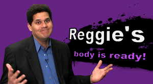 Reggie SSB4 Character Reveal (joke) by sparioendernerd
