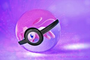 Mew Pokeball by iDJPanda