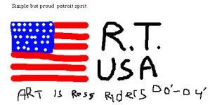 Simple Patroit sprit... by rossriders