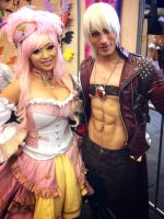 Leon Chiro and Yaya Han - Japan Expo 2015 by LeonChiroCosplayArt