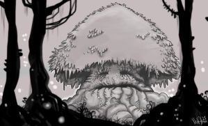 Old Man of the Grove by yig