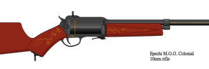 Epechi MOG Colonial revolver rifle by NikkoJT