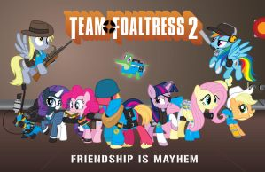 Team Foaltress 2 by Smashinator