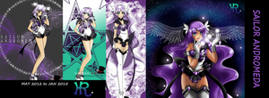 Sailor Andromeda 2012 to 2015 by HatterRose