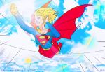 Supergirl Relaxing Flight Wallpaper by J-BIRDSPRINGS