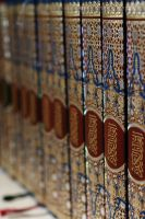 Qur'ans in a shelf 2 by Asurawolf