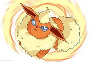Flareon by SeviYummy