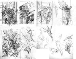 Roughs for Superman TLFoK 3 by felipemassafera