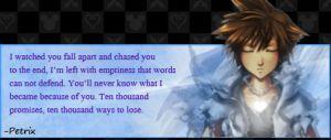 Sora - Kingdom Hearts by 00Petrix00