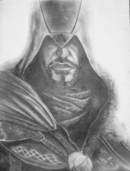 Ezio Auditore by SoulF-ree