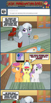 Ask Manehattan Babs #52 by wildtiel