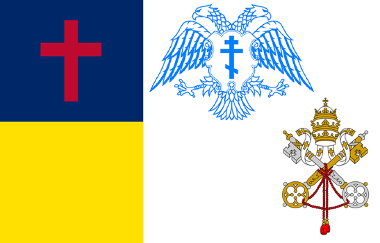 Flag of the Pan-Christianity by 3D4D