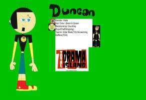 Duncan Profile by Britishgirl2012