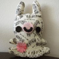 Little music bun by hellohappycrafts