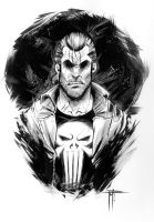 The Punisher - Study by MarcoFontanili