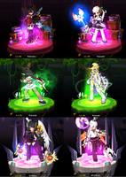 My 6 Elsword chars by replica-luna