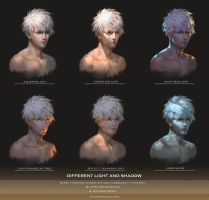 Light and shadow (  Video Tutorial ) by yuchenghong