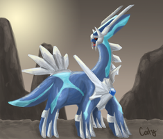 Pokemon Challenge, Day 1. Dragon type by A-Psycho-Banana