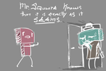 Mr. Squure knows by MRootz