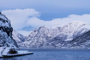 Winter in the fjords by Margit86