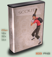 :case:Half-Life 2: TF Scout by foxgguy2001