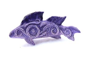 Purple fish by hontor